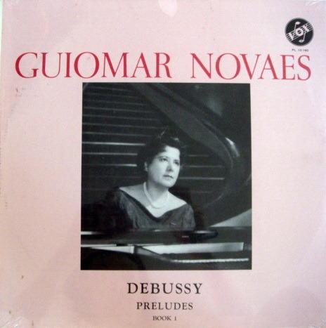★Sealed★ Vox / - NOVAES, Debussy Preludes Book 1!