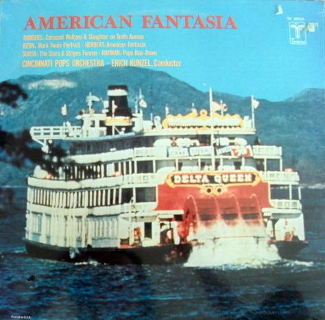 ★Sealed★ Vox Turnabout /  - ERICH KUNZEL, American Fantasia!