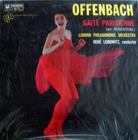 ★Sealed★ Urania /  - LEIBOWITZ, Offenbach Gaite Parisienne!