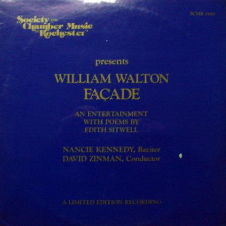 ★Sealed★ Society for Chamber Music / - ZINMAN, Walton Façade!