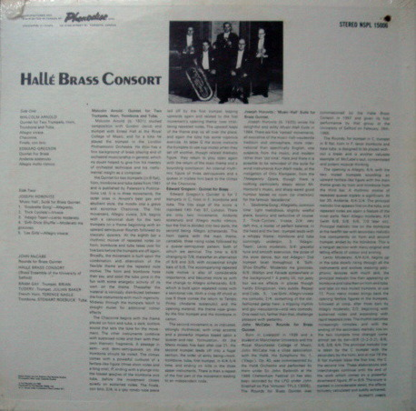 ★Sealed★ Pye Records / - HALLE BRASS CONSORT, Arnold-Gergson-Horovitz Brass Music!