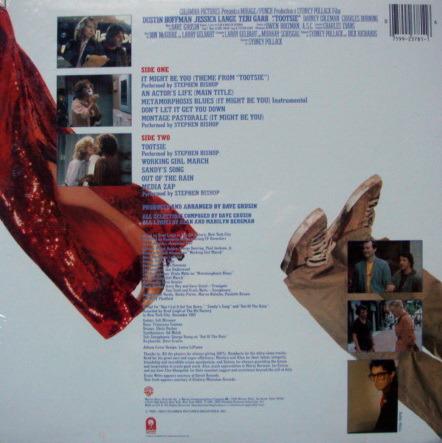 ★Sealed★ Warner /  - Stephen Bishop, Movie Tootsie OST!