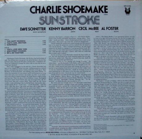 ★Sealed★ Muse Records / - Charlie Shoemake, Sunstroke!