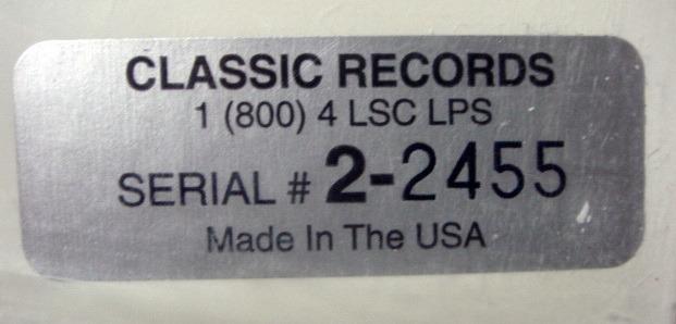 ★Sealed Audiophile 180g★ RCA-Classic Records / - FISTOULARI, Walton Façade Suite!