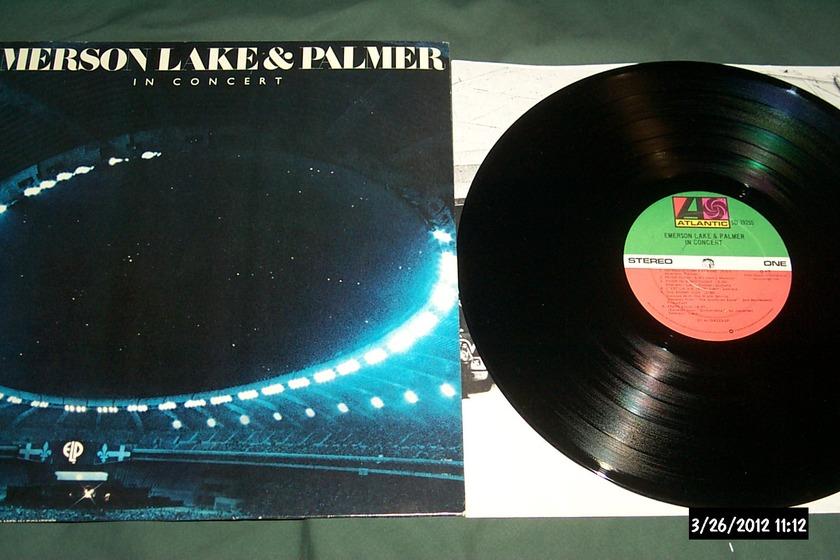 Emerson Lake & Palmer - In Concert  LP NM
