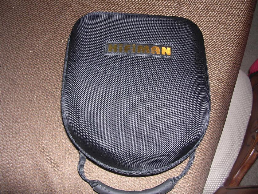 HiFiMan HE-4 headphones w/case