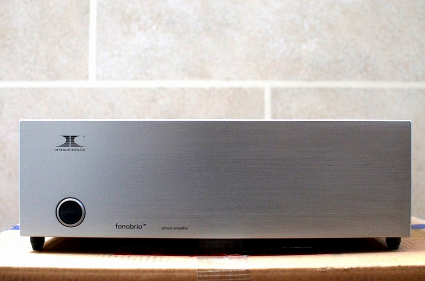 Ensemble Fonobrio reference phono stage