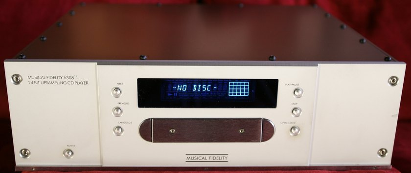 Musical Fidelity A308cr 24bit Upsampling CD Player!!!