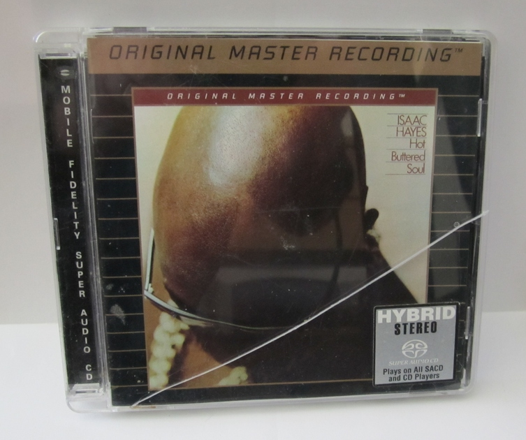 ISAAC HAYES  - HOT BUTTERED SOUL RARE MOBILE FIDELITY - SACD