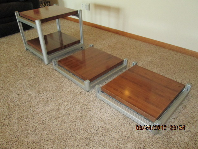 Steve Blinn Designs Amp Stands - Maple