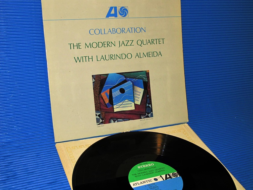 "THE MODERN JAZZ QUARTET/L. ALMEIDA -  -  - ""Collaboration"" -  Atlantic 1964"