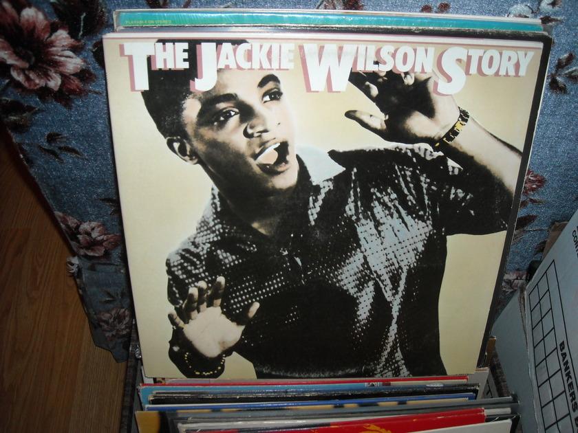 Jackie Wilson - The Jackie Wilson Story Epic 2 LP Set (c)