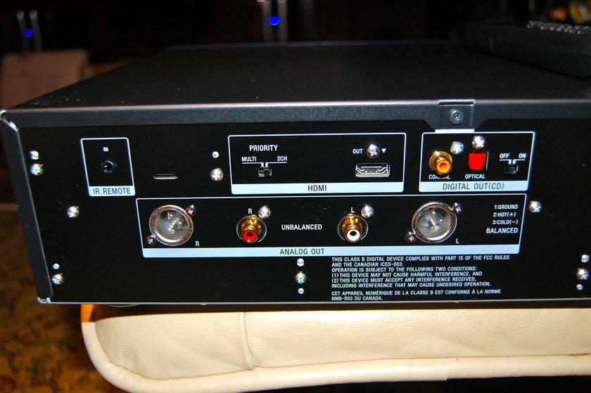 Sony ES  SCD-XA5400ES SACD Player Excellent OBM + remote