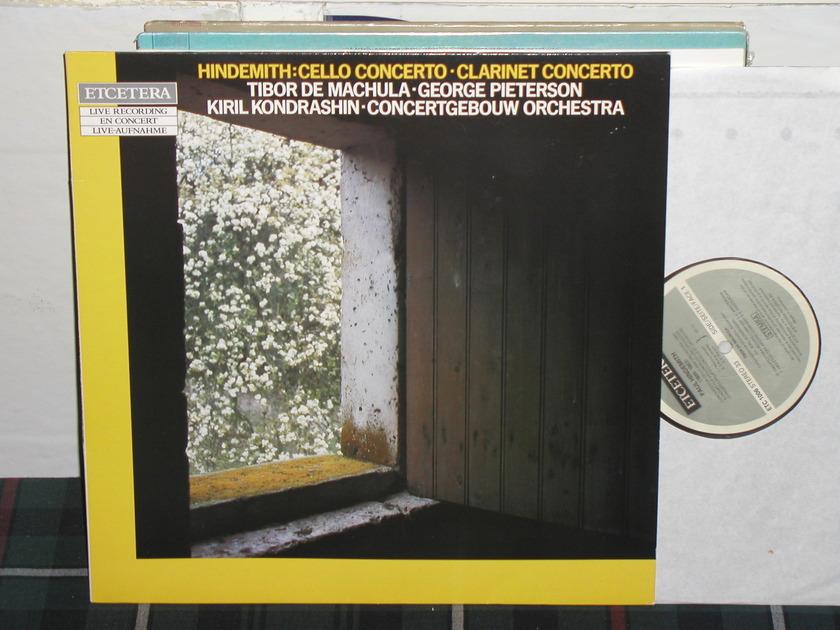 Kondrashin/COA - Hindemith Cello Cto Etcetera german import