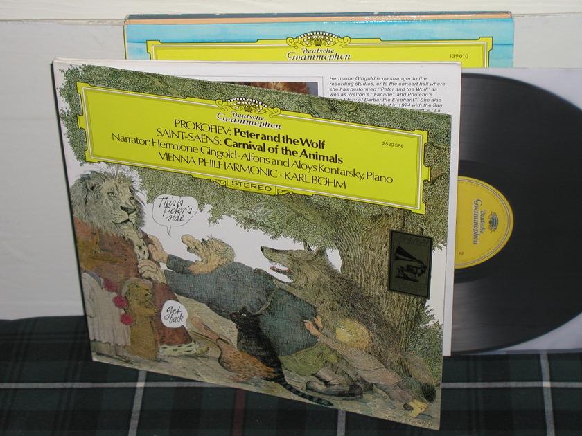 Bohm/VPO - Prokofiev Peter And Wolf DG German import LP