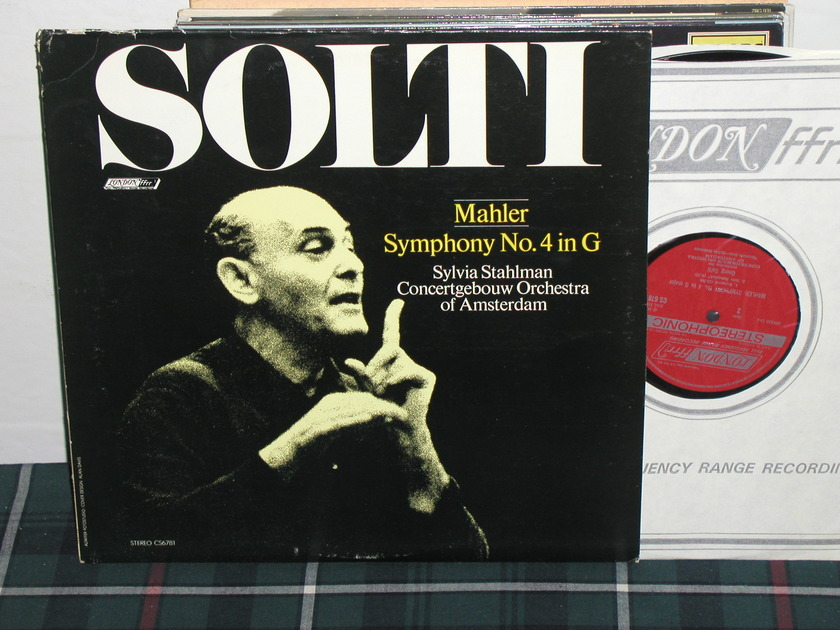 Solti/COA -  Mahler No.4 in G london  London ffrr uk decca cs6781