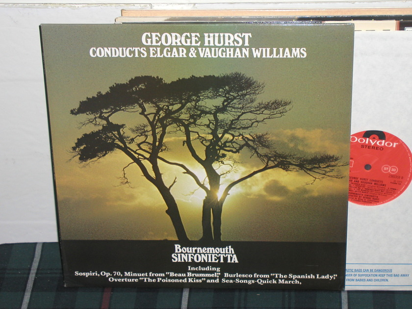 Hurst/Bournemouth SO - Elgar/Williams uk import  polydor super