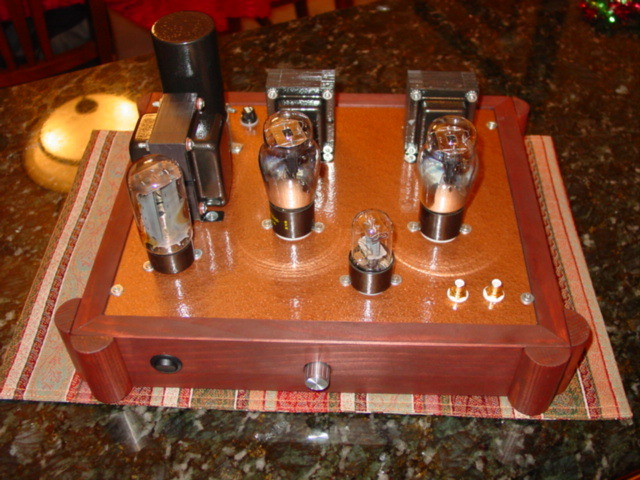 Stereo Tube Amplifier SE 2A3 45