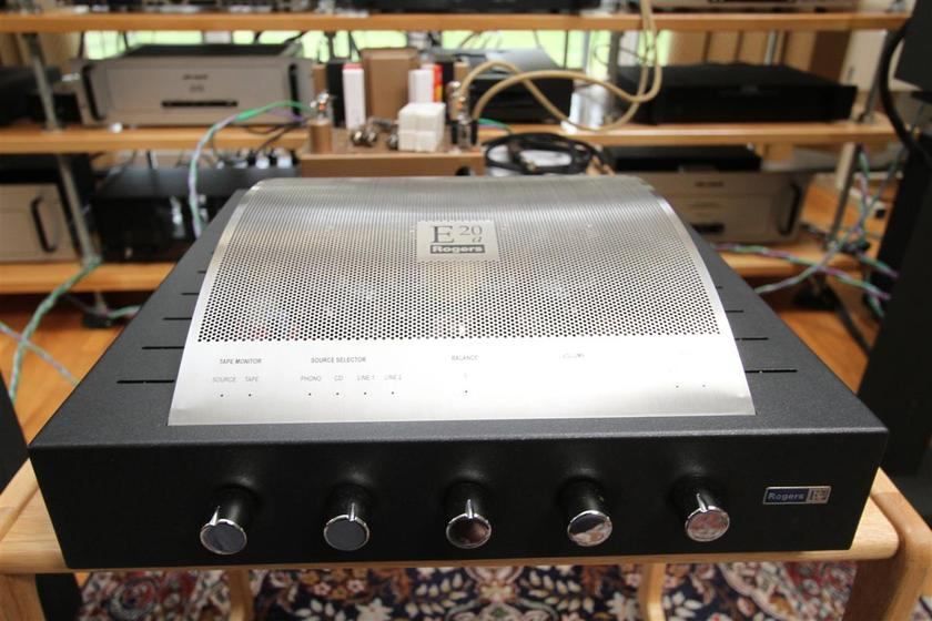 Rogers made by Audionote E20a RARE! Tube amp made for LS3/5A
