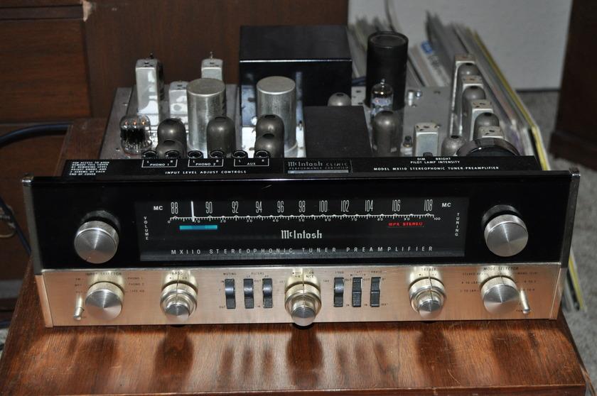 McIntosh MX110 Preamp Tuner Z series McIntosh MX110 1963