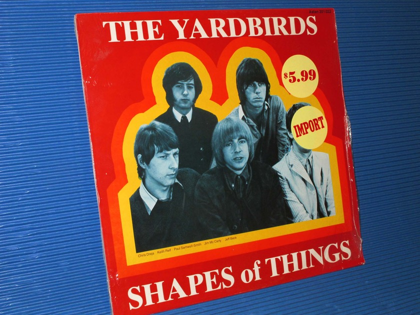 "THE YARDBIRDS -  - ""Shapes of Things"" - Astan Swiss import Sealed"