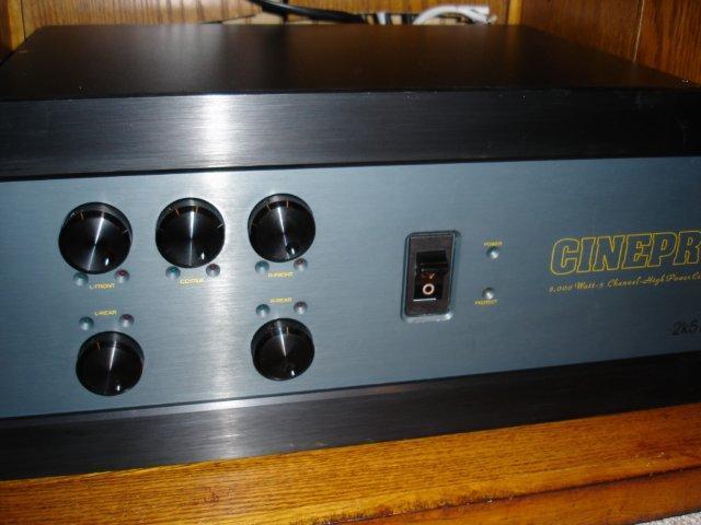 Cinepro  2K5III 6 Channel Amp