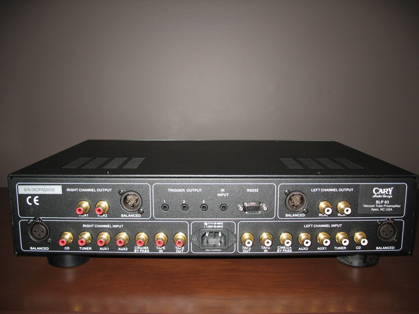 Cary SLP-03  Tube Preamp