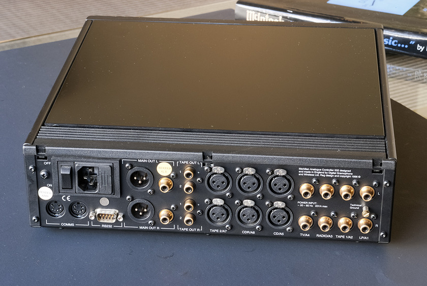 Meridian 502 Preamplifier With Optional MM Phono.