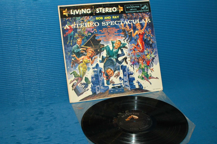 "BOB AND RAY -  - ""A Stereo Spectacular"" - RCA 'Black Dog' 1958 TAS rare!"