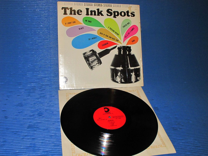 "THE INKSPOTS -  - ""Self Titled"" -  Design 1962 1st pressing Stereo"