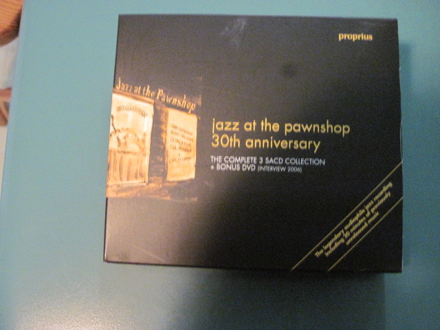 JAZZ AT THE PAWNSHOP 30TH ANNIVERSARY - 3 SACDs + 1 DVD IN LIKE NEW CONDITION