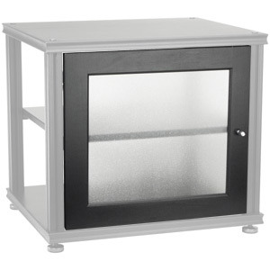Salamander Designs S20 Door; Black w/Frost Glass Bargain!