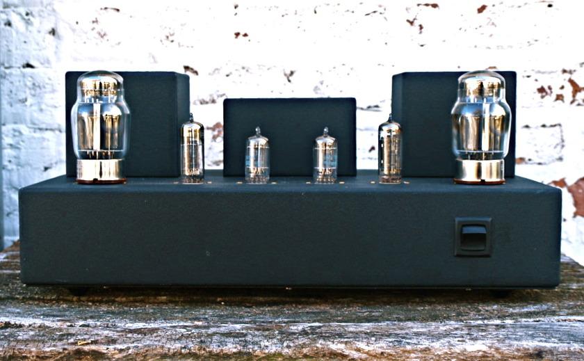Transcendent Sound  Cathode Follower Amp SET custom upgraded single ended amplifier - cult transformers