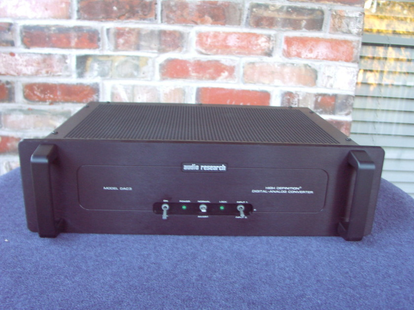 Audio Research DAC 3 mk II D/A converter