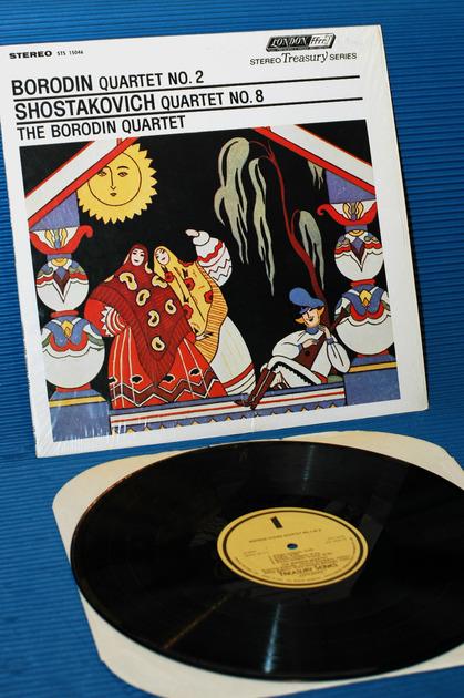 "THE BORODIN QUARTET -  - ""Quartet no. 2"" -  London import 1962"