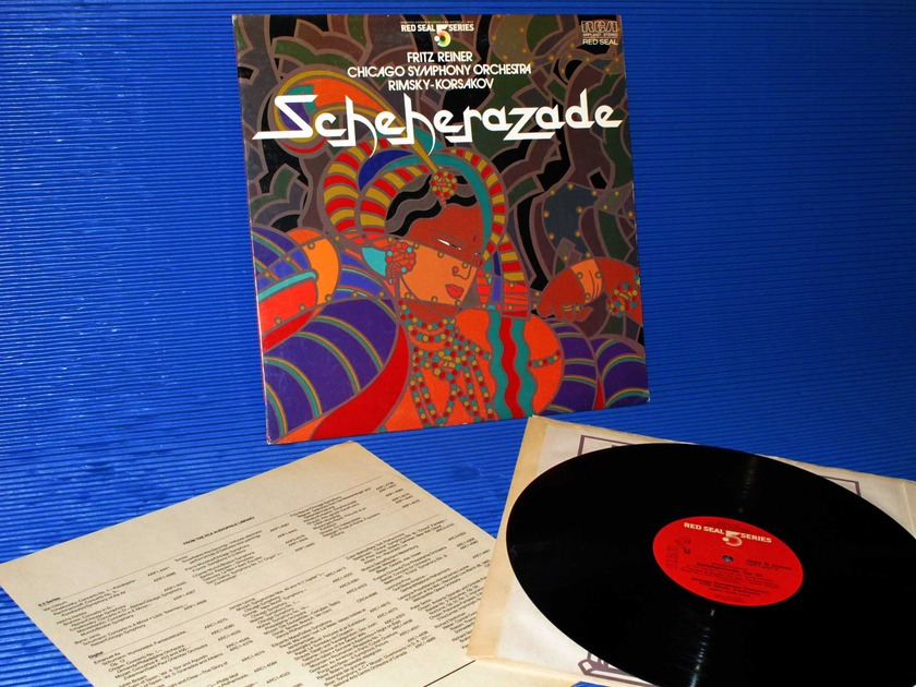 "RIMSKY-KORSAKOV/Reiner -  - ""Scheherazade"" - RCA .5 Series 1982 Audiophile"