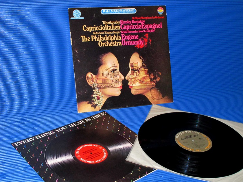 "TCHAIKOVSKY/KORSAKOV/Ormandy -  - ""Capriccio Italien/Espgnol"" -  CBS 1/2 speed audiophile 1982"