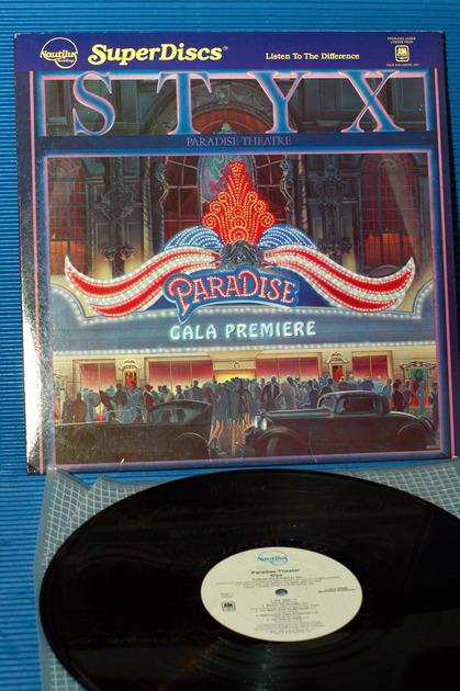 "STYX - - ""Paradise Theater"" -  Nautilus Super Disc 1984"