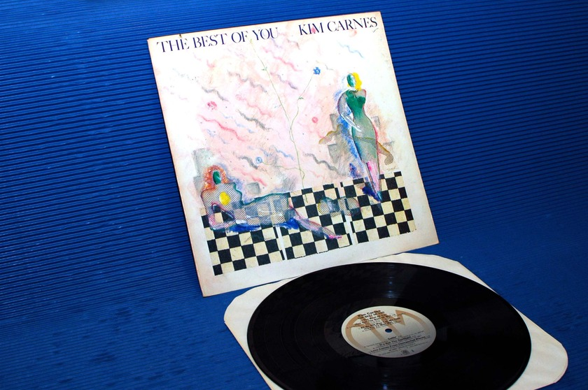 """KIM CARNES - - """"The Best of You"""" -  A&M 1982"""