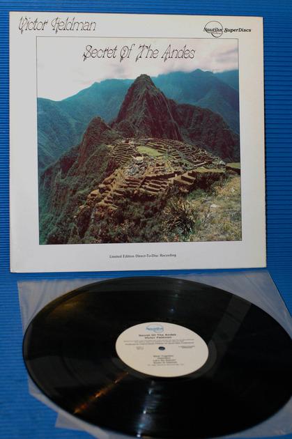 """VICTOR FELDMAN -  - """"Secret Of The Andes"""" -  Nautilus D-D 1982"""