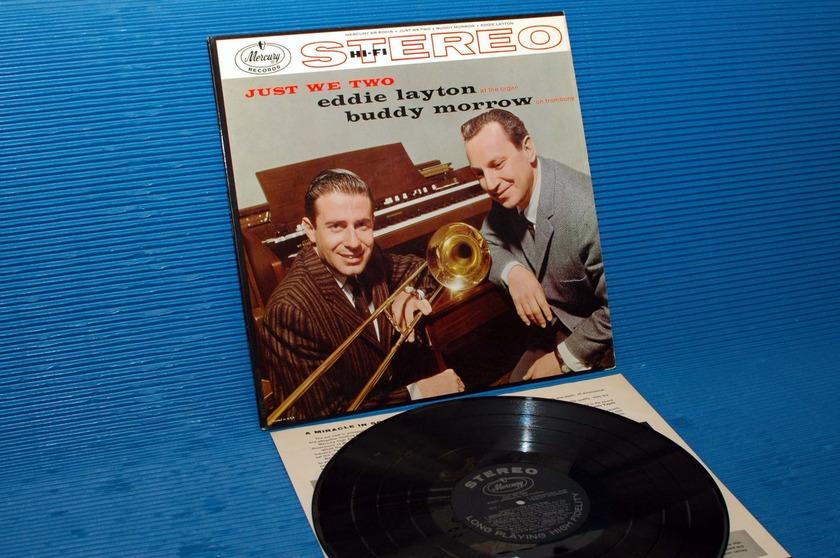 """EDDIE LAYTON & BUDDY MORROW -  - """"Just We Two"""" - Mercury 1958 1st pressing Stereo"""