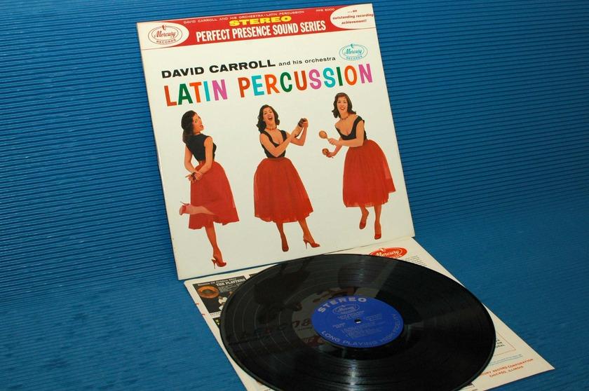 "DAVID CARROLL & ORCHESTRA - - ""Latin Percussion"" -  Mercury Perfect Presence series 1958"