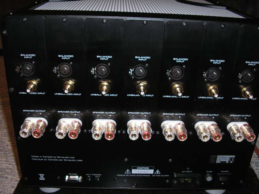 SimAudio MC-8 Amplifier