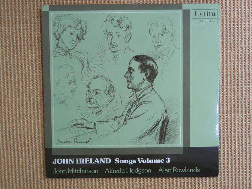 John Ireland - Songs Volume 3 Lyrita Stereo SRCS 118