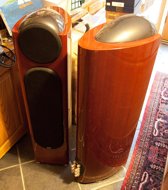 Kef Reference 203/2 Gloss Cherry