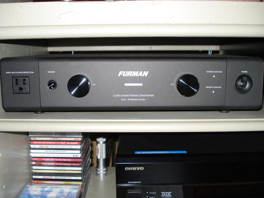 Furman Elite-20PFi Ultra-Linear Filtering AC Power Conditioner