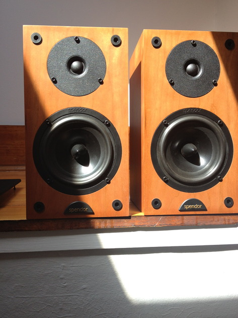 Spendor S3/5R speakers in Cherry