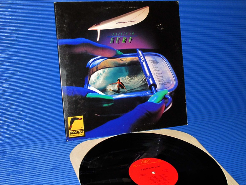 """VARIOUS -  - """"Packed In Surf"""" -  CBS 1981"""