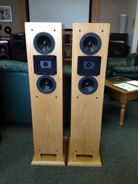 Dunlavy Audio Labs SC-IIIa Oak Finish