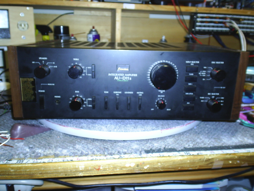 Sansui Au-D11 Ii totally upgraded true balanced amp(not stock)